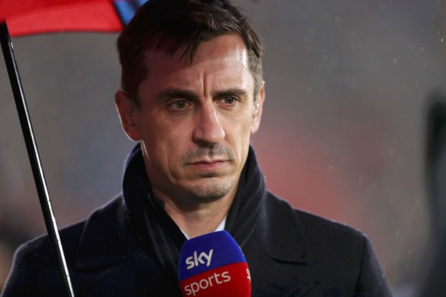 Gary Neville has urged Manchester United to sign two players in January