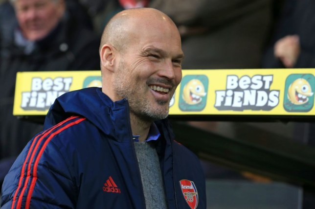 Freddie Ljungberg was appointed as Arsenal's interim manager following the sacking of Unai Emery