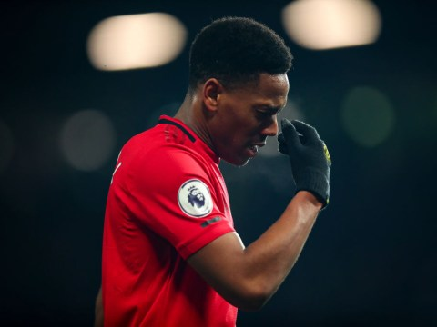 Ole Gunnar Solskjaer confirms Anthony Martial is 'out for a little while' in fresh injury blow