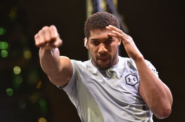 Antony Joshua will look to retain his world heavyweight title belts against Andy Ruiz Jr this evening