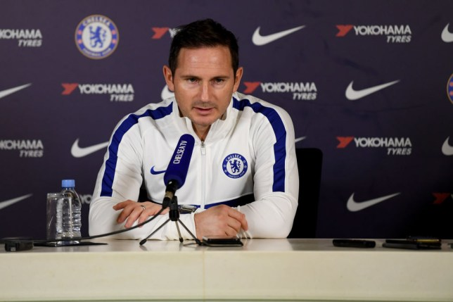 Frank Lampard has spoken out on Chelsea's January transfer plans