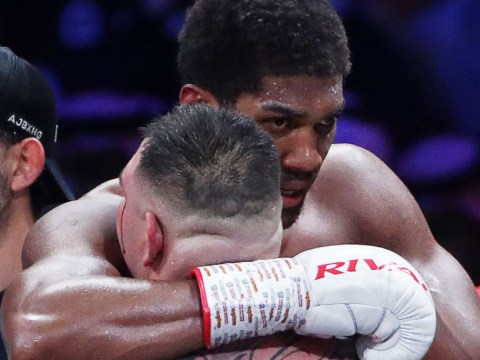What Anthony Joshua told Andy Ruiz in the ring after defeating rival in rematch