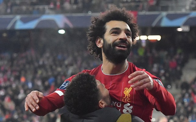 Mohamed Salah scored a sensational goal in Livepool's win over Salzburg