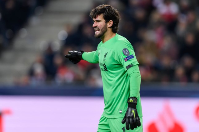 Alisson is Liverpool's No 1 and won the Yachine Trophy earlier this month