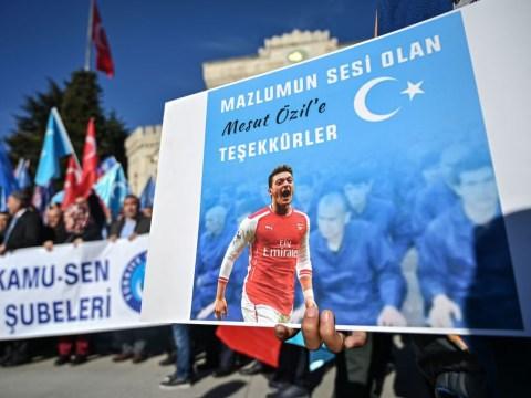 Arsenal respond to Mesut Ozil social media post
