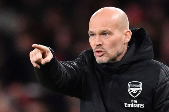 Freddie Ljungberg was installed as Arsenal's interim head coach following the sacking of Unai Emery
