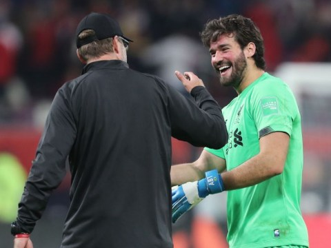 Jurgen Klopp singles out Alisson for helping Liverpool into Club World Cup final