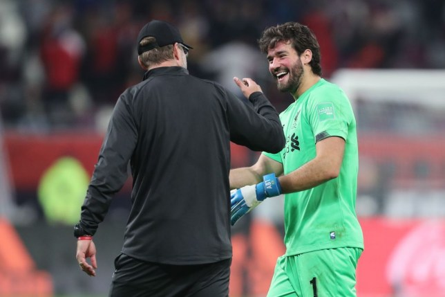Liverpool boss Jurgen Klopp hailed Alisson's performance against Monterrey