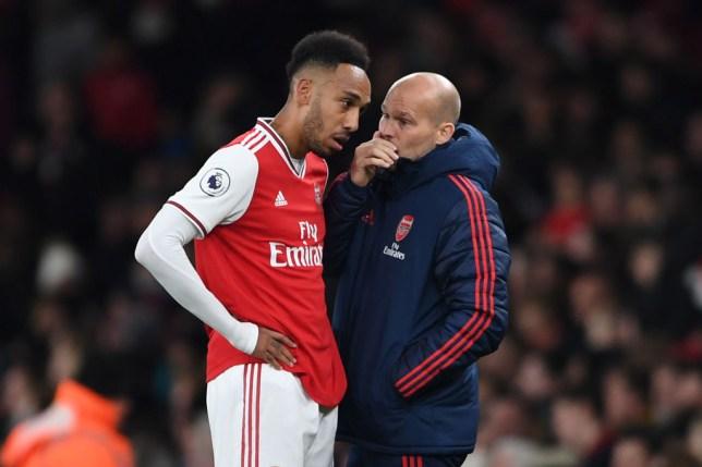 Pierre-Emerick Aubameyang has high hopes for Arsenal interim boss Freddie Ljungberg