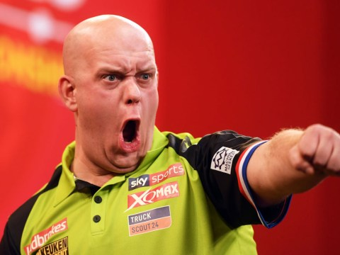 Michael van Gerwen backtracks on threat to 'do a Ronnie O'Sullivan' and miss a 9-darter