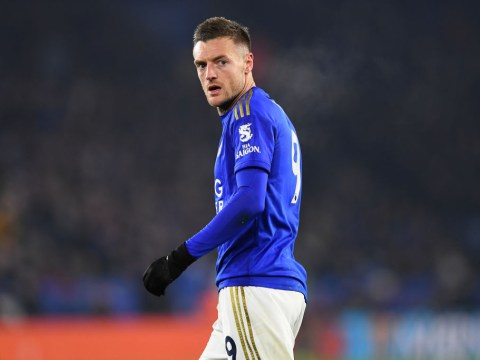 Why Leicester's Jamie Vardy isn't playing against West Ham