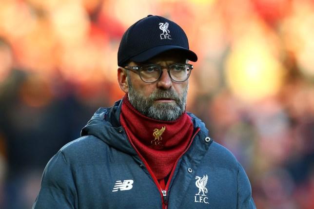 Jurgen Klopp during Liverpool's Premier League win over Brighton