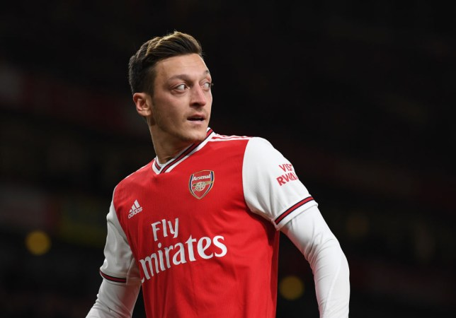 Mesut Ozil's return to the Arsenal team has failed to spark an improvement in the team's form