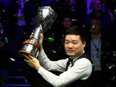 Ding Junhui claims UK Championship title after stunning win over Stephen Maguire