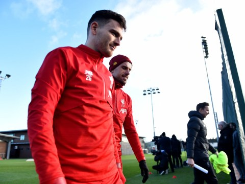 Why Jurgen Klopp benched Andy Robertson for Liverpool's Premier League clash with Watford