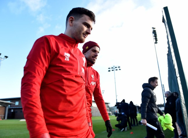 Jurgen Klopp has explained why he benched Andy Robertson for Liverpool v Watford