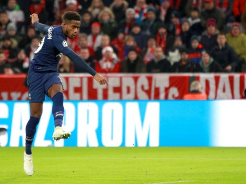 Ryan Sessegnon makes Tottenham history with Champions League goal against Bayern Munich