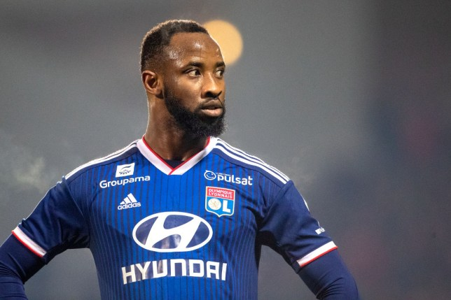 Arsenal are looking to replace either Pierre-Emerick Aubameyang or Alexandre Lacazette with Moussa Dembele