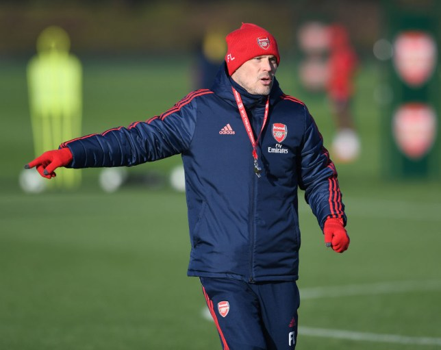Freddie Ljungberg is coaching Arsenal on a game by game basis