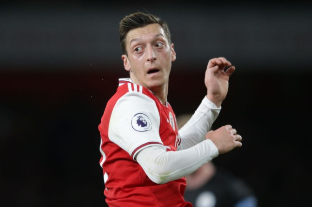 Mesut Ozil spoke out on social media about China's treatment of Uighur Muslims