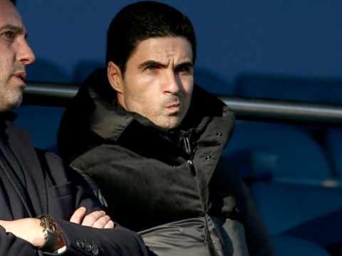 Mikel Arteta waited for Arsenal squad after stalemate against Everton