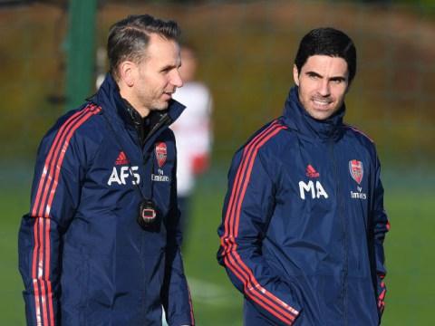 Arsenal officially announce Mikel Arteta's coaching team