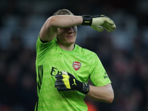 Arsenal players classily rally around Bernd Leno after howler against Chelsea