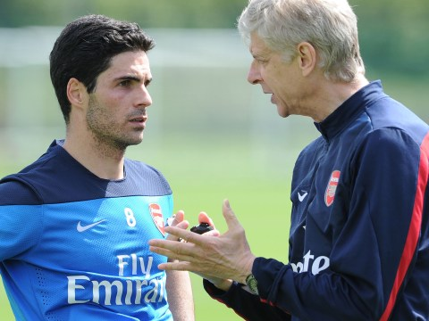 Arsene Wenger has already endorsed Mikel Arteta for Arsenal job