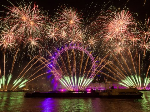 What is the first country in the world to celebrate New Year and what time is it in Australia?