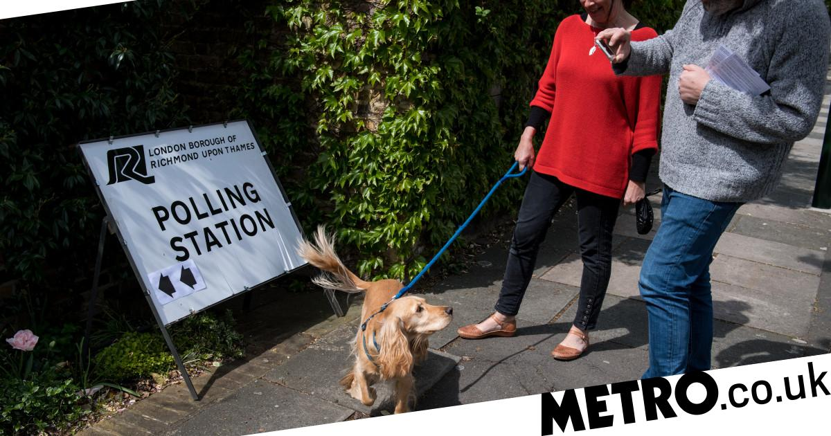 Can you take dogs into polling stations?