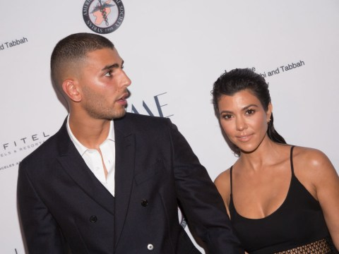 Kourtney Kardashian fuels rumours she is back together with ex Younes Bendjima after cosy nightclub outing