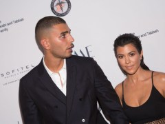 Kourtney Kardashian is spotted getting close to ex Younes Bendjima while partying in Miami
