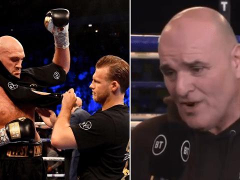 John Fury backs Tyson Fury's decision to axe Ben Davison for Deontay Wilder rematch