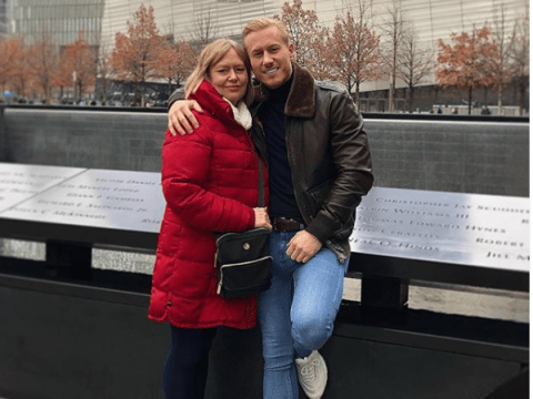 Katie Price's boyfriend Kris Boyson fires back after being dragged for resting his foot on 9/11 memorial
