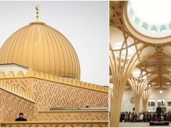 UK gets Europe's first eco-friendly mosque