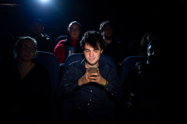 Checking your phone during a visit to the cinema just isn't okay (Odeon)