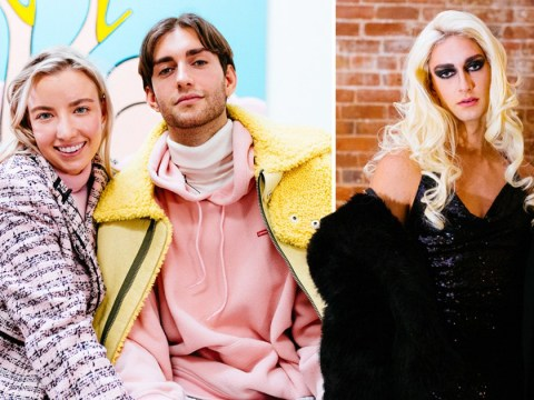 Woman loves her boyfriend's cross-dressing and they go out on dates as two women