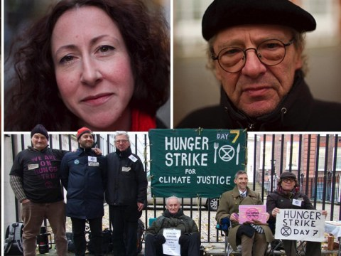 Extinction Rebellion's OAP hunger strikers 'won't eat until Boris meets them'