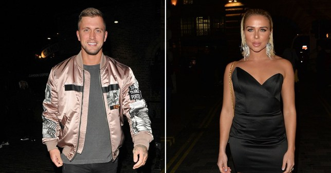Dan Osborne and Gabby Allen