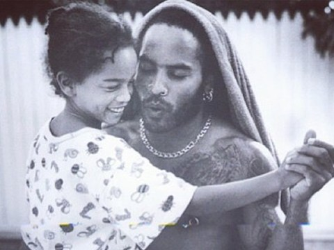 Lenny Kravitz dances with Zoë in adorable throwback to celebrate her 31st birthday