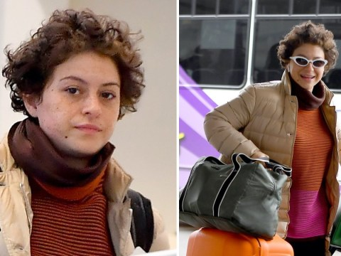 Brad Pitt nowhere to be seen as his close friend Alia Shawkat jets out of LA amid dating rumours