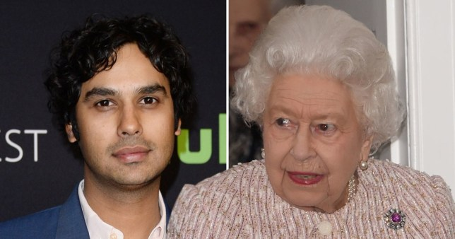 The Big Bang Theory\'s Kunal Nayyar almost fainted meeting Queen Elizabeth II
