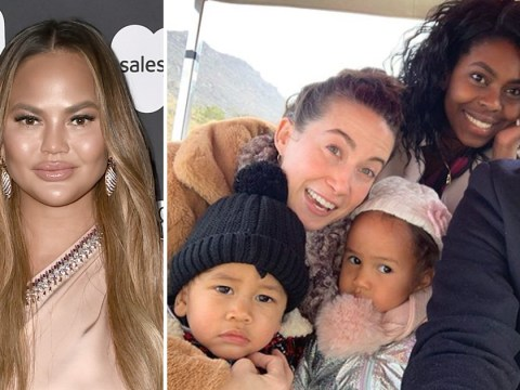 Chrissy Teigen claps back at troll who tries to shame her for having nannies and a personal chef