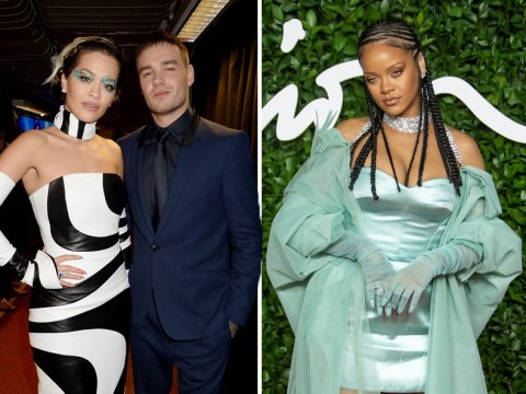 Rihanna, Liam Payne and Rita Ora among stars serving looks at The Fashion Awards