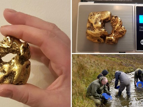 Britain's largest golden nugget worth £80,000 is found in Scottish river