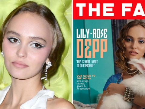 Lily-Rose Depp shows us she's here to stay as she wants to continue on her father's path 'forever'