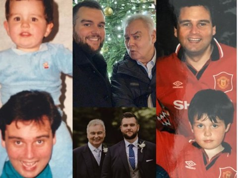 Eamonn Holmes in adorable throwback with son as Ruth Langsford throws surprise 60th