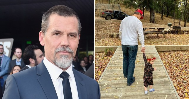 Avengers' Josh Brolin is far cry from Thanos as he shows off daughter after cringing out Ryan Reynolds