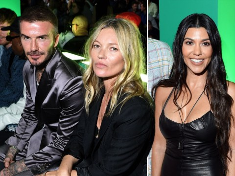 David Beckham, Kate Moss, and Kim Kardashian enjoy front row seats at star-studded Dior show