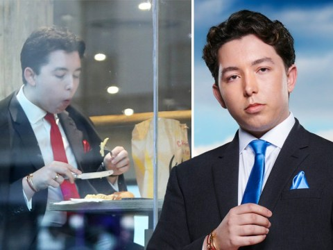 The Apprentice's Ryan-Mark Parsons eats McDonald's like a king with silver cutlery